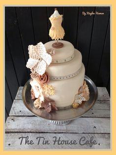 mannequin cake topper