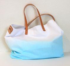 ombre canvas beach bags - Google Search