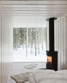 architect, interior, cabin, winter, villa, dream, fireplaces, wood stoves, bedroom