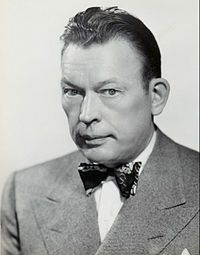 Fred Allen (born John Florence Sullivan, May 31, 1894 – March 17, 1956) was an American comedian whose absurdist, topically pointed radio show (1932–1949) made him one of the most popular and forward-looking humorists in the so-called classic era of American radio.*I <3 Allens Alley*  His best-remembered gag was his long-running mock feud with friend and fellow comedian Jack Benny, but it was only part of his appeal; radio historian John Dunning (in On the Air: The Encyclopedia of Old-Time Radio) wrote that Allen was radio's most admired comedian and most frequently censored. A master ad libber, Allen often tangled with his network's executives (and often barbed them on the air over the battles), while developing routines the style and substance of which influenced contemporaries and futures among comic talents, including Groucho Marx, Stan Freberg, Henry Morgan and Johnny Carson, but his fans also included President Franklin D. Roosevelt, and novelists William Faulkner, John Steinbeck and Herman Wouk (who began his career writing for Allen).