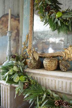 Fireplace Flourish