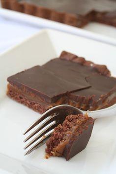 El tenedor rosa: Tarta de dulce de leche y chocolate