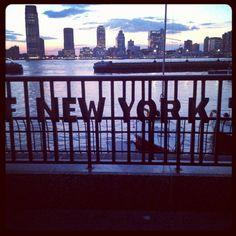 #Hudson filter of the Hudson River - The Gansevoort #Hotel goes to Battery Park! (Taken with Instagram at Battery Park)