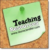 Teaching Resources at www.LauraCandler.com - Online file cabinet of ready-to-use lessons and freebies for teachers