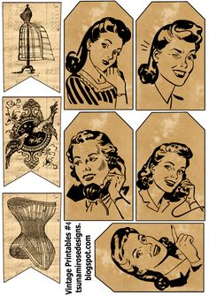 Vintage Tags Free Printable