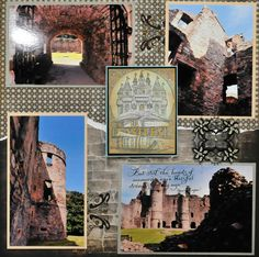 Balvenie Castle, Scotland - RIGHT SIDE - Scrapbook.com