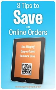 If you order online at all, you've GOT to read this post. These tips and tricks could save you at least $100 per year -- if not more!