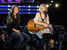 "Before Miley Cyrus came through like a wrecking ball and before Taylor Swift decided to never ever ever get back together, the ladies united to deliver an innocent performance of Swift's ""Fifteen"" at the 51st GRAMMY Awards in 2009"