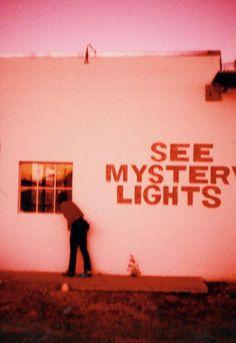 Marfa lights, Marfa, Texas