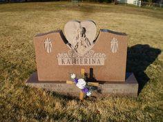 Genealogical Gems: Tombstone Tuesday: Nicholas & Tillie Katherina #genealogy #familyhistory