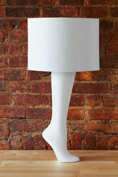 Counter balanced Leg lamp