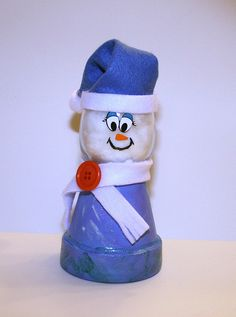Awesome snowman craft!