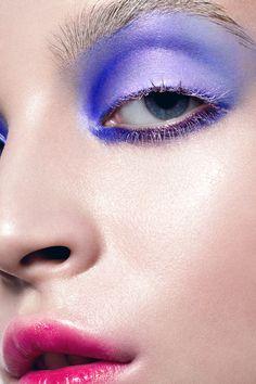 #makeup #eyeshadow #eyeliner #mascara #eyes #blue