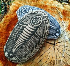Trilobite Therapeutic Hot Cold Pillow   Organic Flax by TRILODEON #trilobite #novelty #healing #pillow