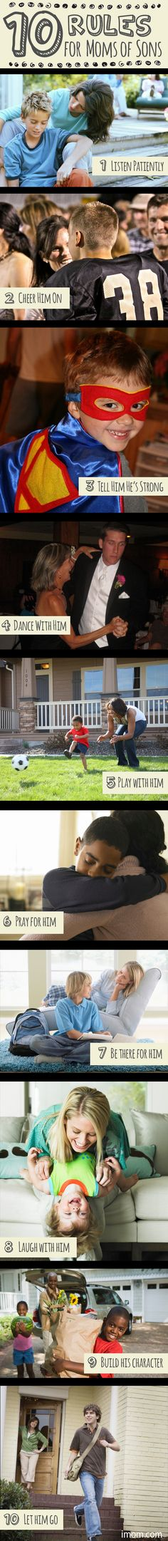 10 Rules for Moms of Sons