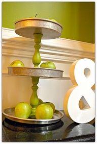 Candle Sticks / Pie Pans (lifeasathrifter.b...)