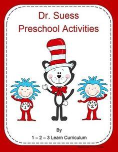 Dr. Seuss Preschool Activities