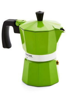Discerning Palette Coffee Maker in Green Shoots - 3 Cup