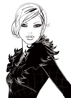 Jason Brooks Fashion Illustrations