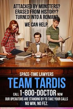 Doctor Who - Space-time Lawyers