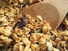 Loaded Coconut Oil Granola