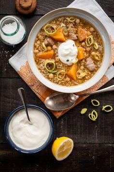 Chicken, Butternut Squash Stew