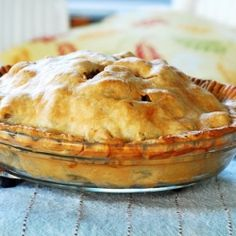 Meat and Potato Pie... comfort food at it's man-pleasing best.
