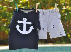 anchor outfit - too cute