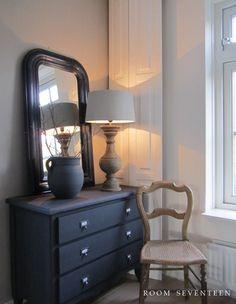 Patine sur meubles objets on pinterest grain sack for Faux fini meuble