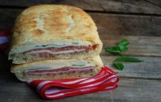Pressed Picnic Sandwich - great sandwich for a hot day.