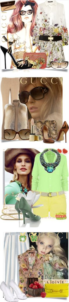 """""""GUCCI"""" by labelledejour ❤ liked on Polyvore"""