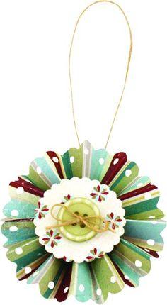 Paper Snowflake Ornament