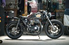 CAFE' RACER CULTURE: 1968 B.S.A Lightning Harney by Boy Bike
