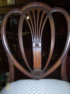 Beautiful Hepplewhite chair! Just beautiful!!!