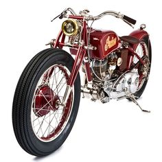 Indian custom motorcycle by The GasBox