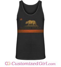 Represent the Rebellion custom #cali tank top