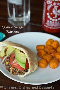 Quinoa Veggie Burgers