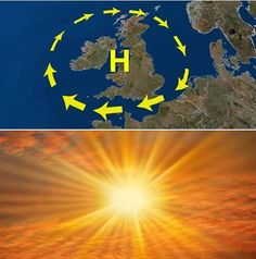 High pressure staying securely in control across the UK & Ireland for the remainder of this week - bringing some very warm sunshine and well above average daytime temperatures @ http://www.exactaweather.com/UK_Long_Range_Forecast.html