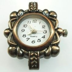 Beading Jewellery Making Watch Face - Bronze - Spoil Me Silly Jewellery