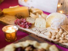 Speaking of cheese plates...put yours on this DIY wood-burned platter this year. (http://blog.hgtv.com/design/2013/11/12/weekday-crafternoon-diy-wood-burned-cheese-board/?soc=pinterest-blogparty)
