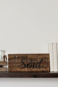 It is Well with My Soul Small Wall Art