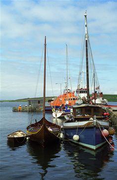 Boats, Lerwick, Shetland Isles.