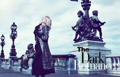 The Dark Romance | Iris Egbers | Denise Boomkens #photography | Harper's Bazaar Hong Kong September 2012