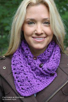 Crochet pattern for Ashlyn Scarf from Crochet by Jennifer