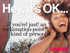 Hey, it's OK (!!!!)