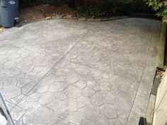 Customer Feedback – LastiSeal® Concrete Stain & Sealer (rocky grey) applied to an outdoor concrete patio.
