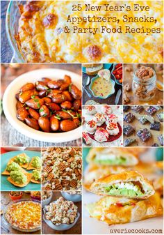 25 New Year's Eve Appetizers, Snacks, and Party Food Recipes