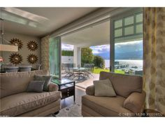 Simple decor that doesn't overshadow the beauty of nature. West Kelowna, BC Coldwell Banker Horizon Realty $3,623,545