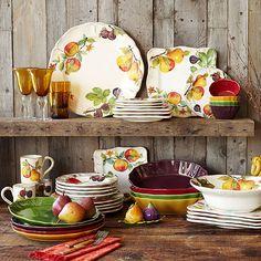 warm colors, color dish, fall color