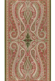 Pasha Paisley in Pomegranate, 5006601. http://www.fschumacher.com/search/ProductDetail.aspx?sku=5006601  #Schumacher